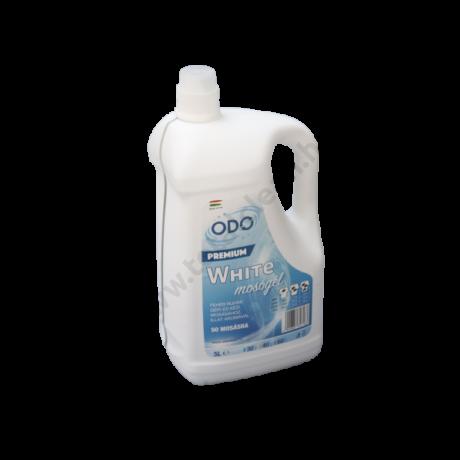 ODO WHITE mosógél fehér ruhákhoz 5 L